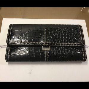 Beautiful Liz Claiborne Black Leather Wallet